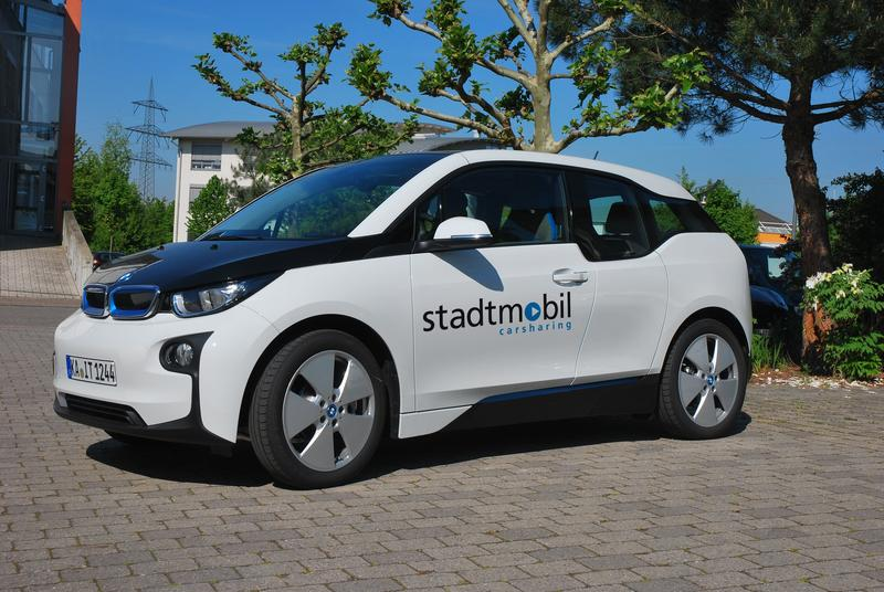 Carsharing mit E Autos