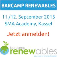 Barcamp Renewables 2015