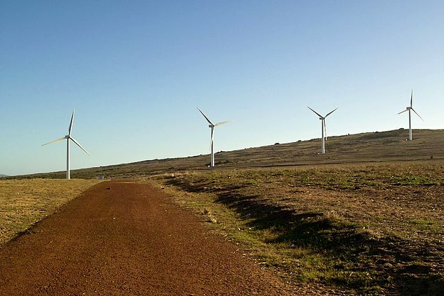 Darling South Africa wind turbines