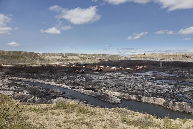 Coal rich Powder River Basin Wyoming