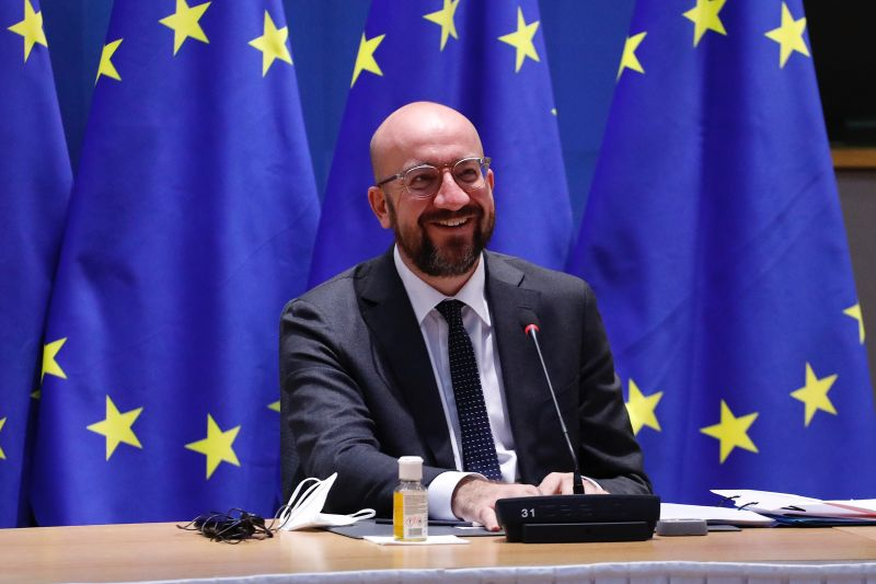 Charles MICHEL President of the European Council